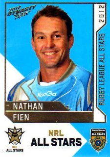 2012 NRL Dynasty All Stars Nathan Fien Dragons