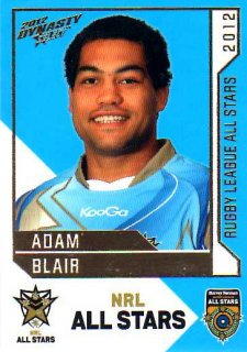 2012 NRL Dynasty All Stars #AS32 Adam Blair Tigers