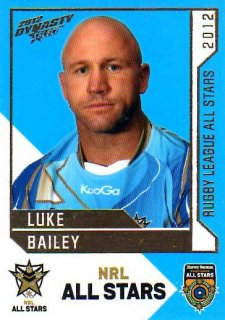 2012 NRL Dynasty All Stars #AS30 Luke Bailey Titans