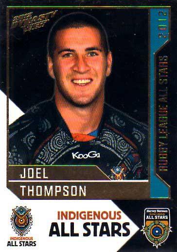 2012 NRL Dynasty All Stars #AS19 Joel Thompson Raiders