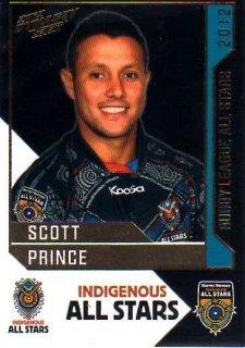 2012 NRL Dynasty All Stars #AS17 Scott Prince Titans