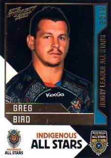 2012 NRL Dynasty All Stars #AS13 Greg Bird Titans