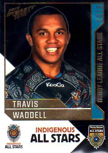 2012 NRL Dynasty All Stars #AS9 Travis Waddell Raiders