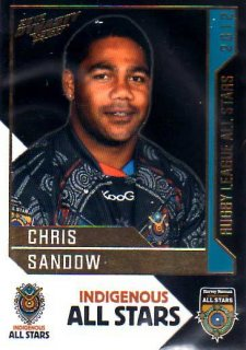 2012 NRL Dynasty All Stars #AS7 Chris Sandow Eels