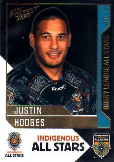 2012 NRL Dynasty All Stars #AS4 Justin Hodges Broncos