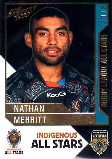 2012 NRL Dynasty All Stars #AS5 Nathan Merritt Rabbitohs
