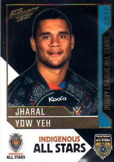 2012 NRL Dynasty All Stars #AS2 Jharal Yow Yeh Broncos