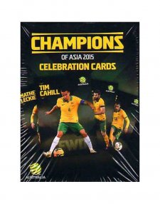2015 Champions of Asia Celebration Cards 23-Card Box Set Socceroos