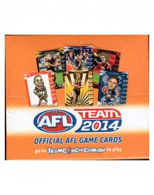 2014 AFL Teamcoach Sealed Box