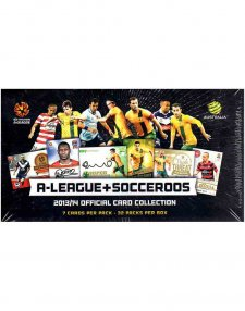 2013/14 A-League + Socceroos Factory Sealed Box
