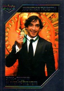 2015 NRL Elite Dally-M Album Card #DM1 Johnathan Thurston Cowboys