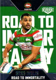 2015 NRL Elite Case Card #CC3 Greg Inglis Rabbitohs
