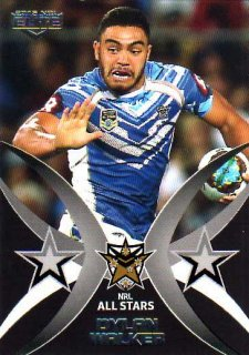 2015 NRL Elite All Stars #AS4 Dylan Walker Rabbitohs #79/100