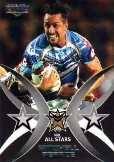 2015 NRL Elite All Stars #AS3 Mitchell Pearce Roosters #87/100