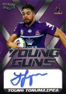 2015 NRL Elite Young Gun Signature #YGS7 Young Tonumaipea Storm #80/130