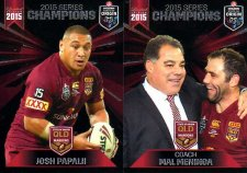 2015 State of Origin Series Champions 2-Card Team Set Raiders