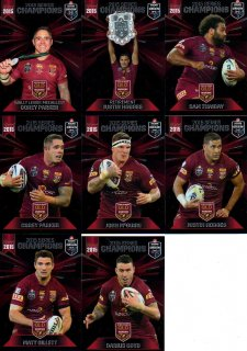 2015 State of Origin Series Champions 8-Card Team Set Broncos