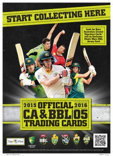 2015/16 Cricket Austarlia and BBL Sales Flyer