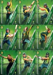 2015/16 CA & BBL Cricket 15-Card Team Set Southern Stars