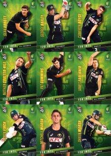 2015/16 CA & BBL Cricket 15-Card Team Set Australian T20 Team