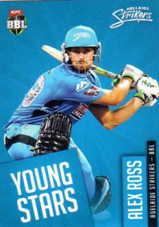 2015/16 CA & BBL Cricket Young Stars # YS-05 Alex Ross Strikers