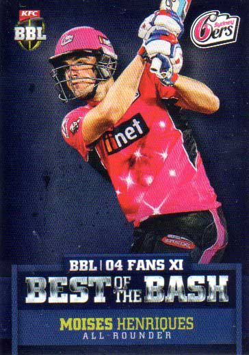 2015/16 CA & BBL Cricket Best of the Bash# BB-06 Moises Henriques Sixers
