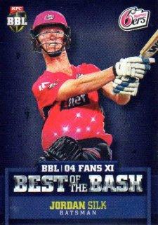 2015/16 CA & BBL Cricket Best of the Bash# BB-05 Jordan Silk Sixers