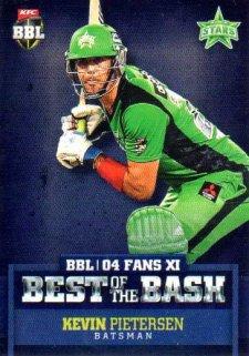 2015/16 CA & BBL Cricket Best of the Bash# BB-03 Kevin Pietersen Stars