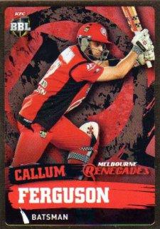 2015/16 CA & BBL Cricket Gold Parallel #PS110 Callum Ferguson Renegades