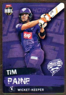 2015/16 CA & BBL Cricket Gold Parallel #PS97 Tim Paine Hurricanes