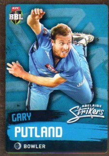 2015/16 CA & BBL Cricket Gold Parallel #PS70 Gary Putland Strikers