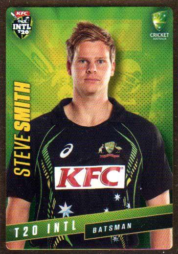 2015/16 CA & BBL Cricket Gold Parallel #PS41 Steve Smith Australian T20
