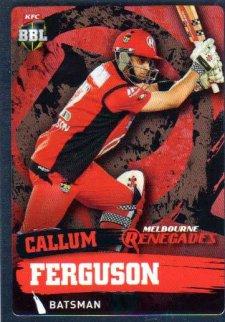2015/16 CA & BBL Cricket Silver Parallel #P110 Callum Ferguson Renegades