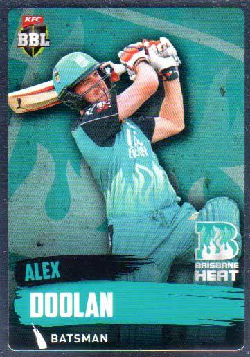 2015/16 CA & BBL Cricket Silver Parallel #P80 Alex Doolan Heat