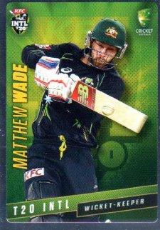 2015/16 CA & BBL Cricket Silver Parallel #P43 Matthew Wade Australian T20
