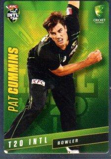 2015/16 CA & BBL Cricket Silver Parallel #P35 Pat Cummins Australian T20