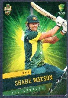 2015/16 CA & BBL Cricket Silver Parallel #P30 Shane Watson Australian ODI