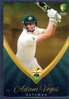 2015/16 CA & BBL Cricket Silver Parallel #P14 Adam Voges Australian Test