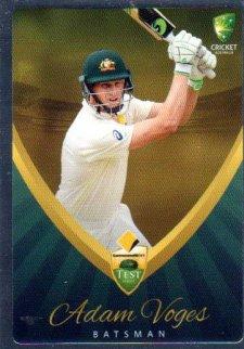 2015/16 CA & BBL Cricket Silver Parallel #P14 Adam Voges Australian Test