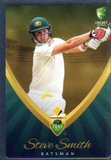 2015/16 CA & BBL Cricket Silver Parallel #P12 Steve Smith Australian Test