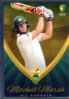 2015/16 CA & BBL Cricket Silver Parallel #P8 Mitchell Marsh Australian Test