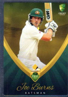 2015/16 CA & BBL Cricket Silver Parallel #P1 Joe Burns Australian Test