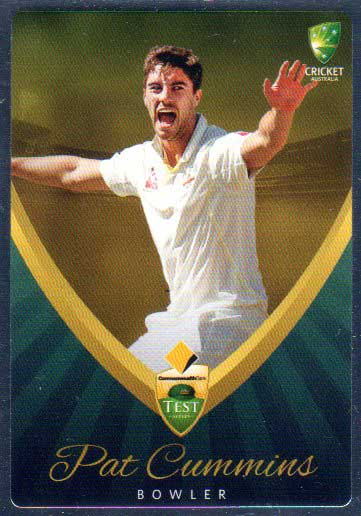 2015/16 CA & BBL Cricket Silver Parallel #P2 Pat Cummins Australian Test