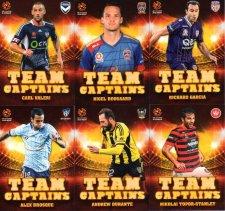 2015/16 FFA & A-League Soccer Team Captains Complete 12-Card Insert Set