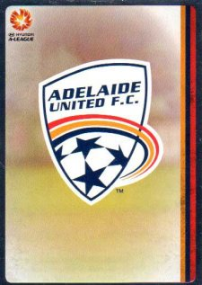 2015/16 FFA & A-League Soccer Silver Parallel #41 Team Logo Adelaide United