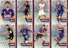 2015/16 FFA & A-League 16-Card Team Set Perth Glory