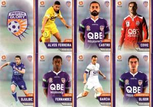 2015/16 FFA & A-League 16-Card Team Set Perth Glory