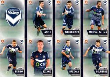 2015/16 FFA & A-League 16-Card Team Set Melbourne Victory