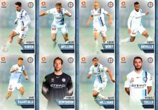 2015/16 FFA & A-League 16-Card Team Set Melbourne City