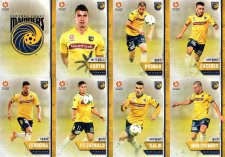 2015/16 FFA & A-League 16-Card Team Set Central Coast Mariners